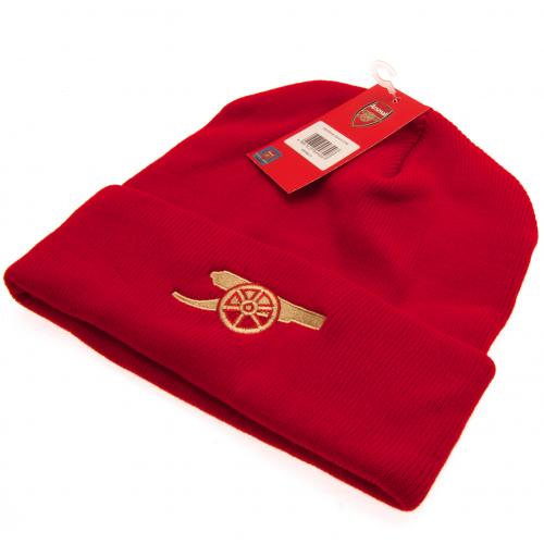 a0a3c25517b Arsenal FC Red Knitted Hat